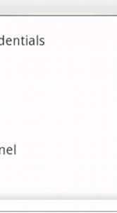 Het instellingenmenu van Twitli.