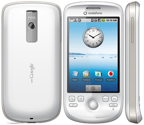 android vodafone htc magic