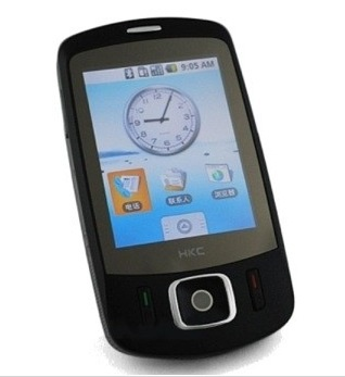 HKC Imobile V413: een Android-kloon van de HTC Touch