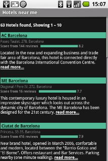 hotels in de buurt barcelona