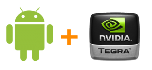 nvidia tegra met android
