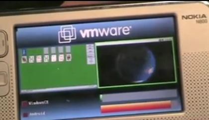 VMWare laat Windows CE en Android parallel draaien