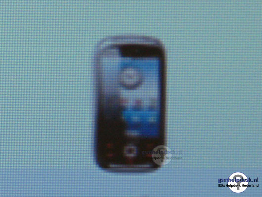 Samsungs eerste Android toestel
