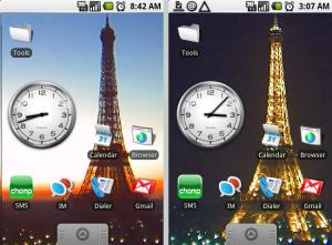 Eiffeltoren wallpaper Android