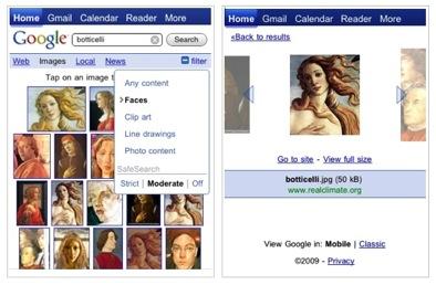 Betere zoekresultaten voor Google Afbeeldingen op Android en iPhone