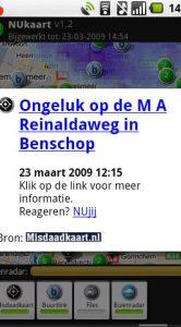 Een nieuwtje van Misdaadkaart.nl.
