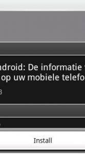 NUkaart in de Android Market.