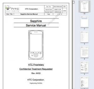 sapphire service manual