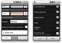 Kleine veranderingen in interface van Android 1.5