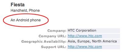 HTC Fiesta is de nieuwste Android-telefoon