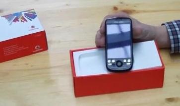 Uitpakken maar: de HTC Magic van Vodafone