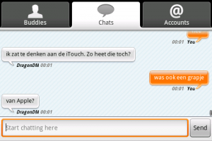 Chatten in landscape.