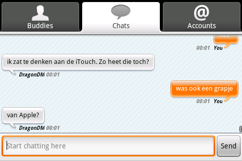 Review: eBuddy voor Android
