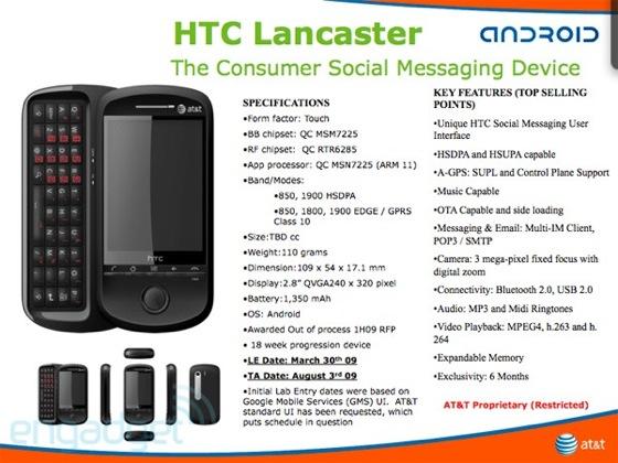 htc lancaster slide