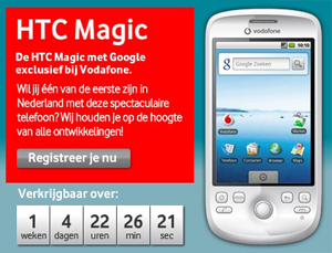 htc magic kopen