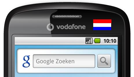 Persbericht Vodafone: introductie HTC Magic in Nederland
