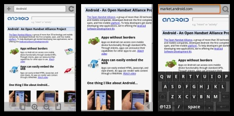 Nieuwe webbrowser Steel voor Android-telefoons