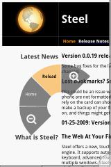 steel web browser