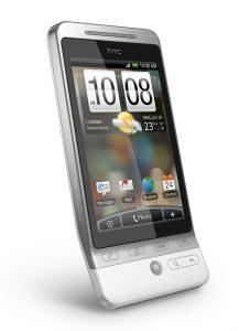 HTC Hero met HTC Sense - Voorzijde