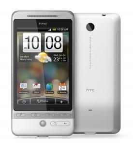 HTC Hero met HTC Sense - voor- en achterzijde