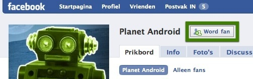 facebook planet android