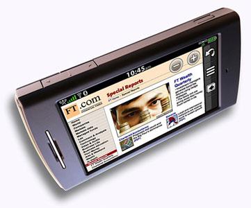 Garmin-ASUS: eerste Android-toestel uiterlijk maart 2010