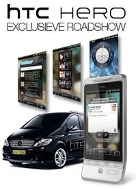 HTC Hero Roadshow: kom kijken naar de HTC Hero in Rotterdam, Groningen, Eindhoven en Antwerpen