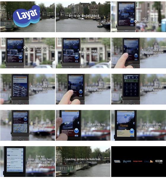 Layar voorgeïnstalleerd op Nederlandse versie Samsung Galaxy