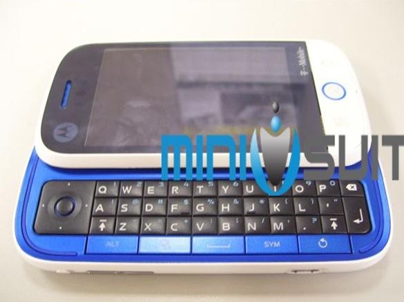 Motorola Morrison: Android in blauw, wit en zwart