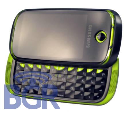 De Samsung Bigfoot: een groene Android-slider