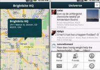 Brightkite lanceert Android-applicatie