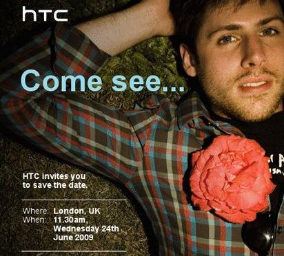 HTC Uitnodiging