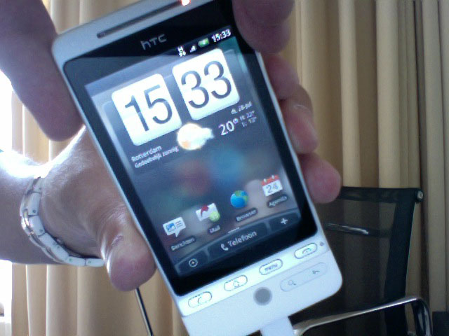 Eerste HTC Hero's bij klanten gearriveerd