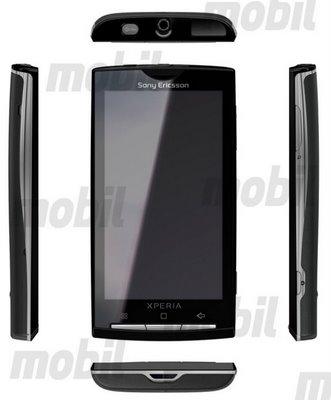 Xperia X5 (Rachael): eerste Android-toestel van Sony Ericsson?