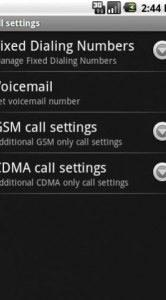 Leuk voor Amerikanen: ondersteuning voor het CDMA-netwerk (op dit moment is Android alleen geschikt voor het GSM-netwerk).