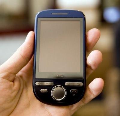 Nieuwe foto van de HTC Click