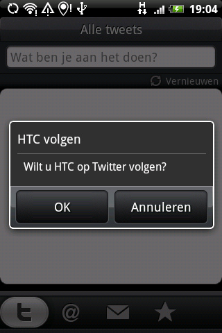 Meerdere HTC-telefoons krijgen Gingerbread