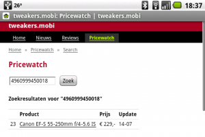 pricewatch tweakers