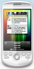 FlyDroid van Flyscreen: doe meer met je Android lockscreen (1000 alpha-invites)