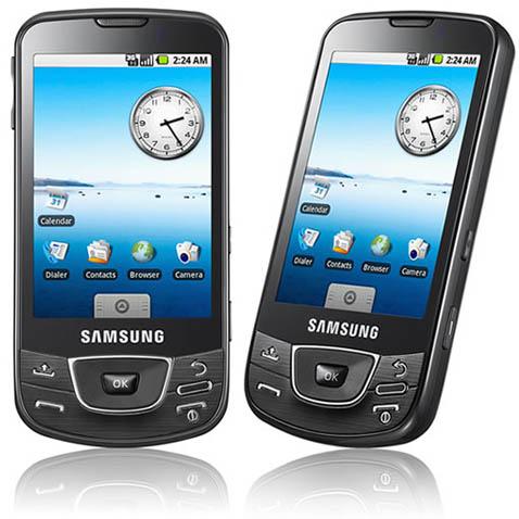 Is de GT-i7500 Galaxy de Android-held van Samsung?