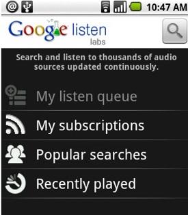 google listen