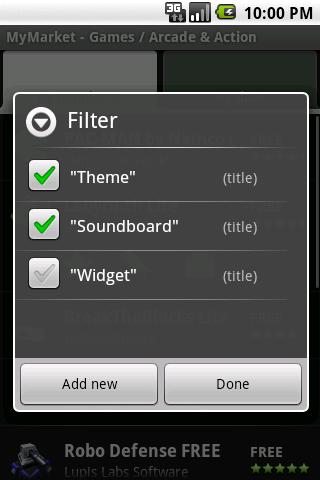 MyMarket krijgt update met aangepaste filters