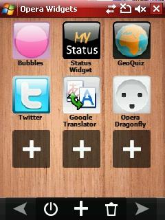 Opera Mobile voor Android in de maak