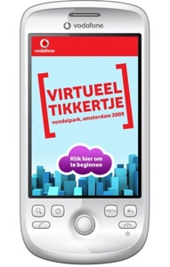 Vodafone organiseert citygame met HTC Magic