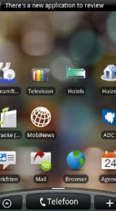 De applicatie verschijnt als ADC2 op je scherm.