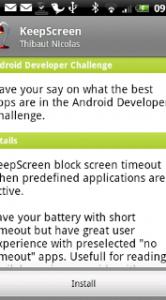 KeepScreen.