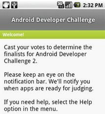 Eerste ronde van ADC2 begonnen: stem mee via je Android-telefoon