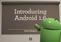 Android 1.6 SDK (Donut) nu beschikbaar voor ontwikkelaars