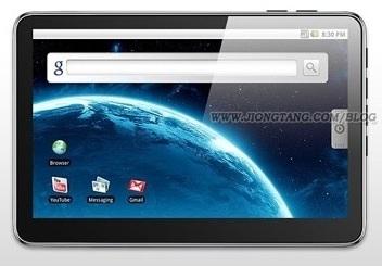 RAmos W7: Android MID lijkt sterk op Apple-tablet