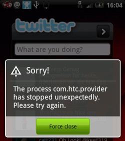 Twitter-applicatie HTC Peep tijdelijk onbruikbaar door Twitpocalypse